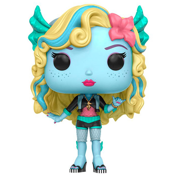 Фигурка Funko POP! Monster High: Lagoona Blue monster high коллекция наклеек