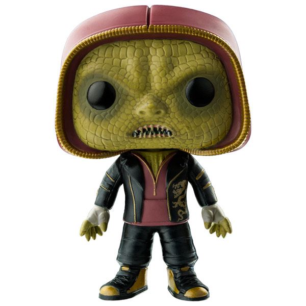 Фигурка Funko POP! Heroes: Suicide Squad: Killer Croc Hooded iclebo pop