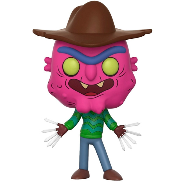 Фигурка Funko Pop! Animation: Rick & Morty Series 3 Scary Terry leo bormans the world book of happiness