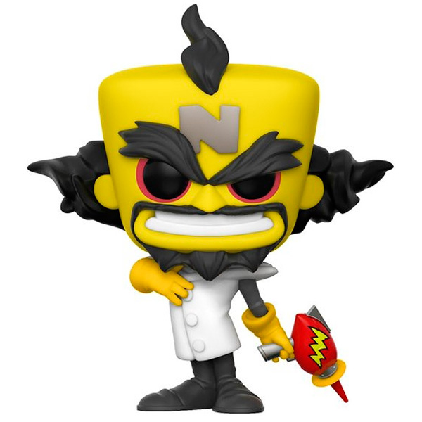 Фигурка Funko Pop! Games: Crash Bandicoot - Neo Cortex iclebo pop
