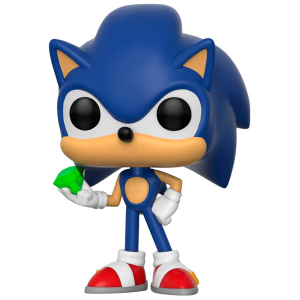 Фигурка Funko Pop! Games: Sonic - Sonic with Emerald фигурка funko pop bobble marvel black panther nakia