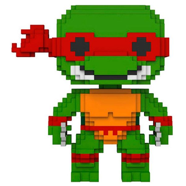 Фигурка Funko 8-Bit Pop!: Teenage Mutant Ninja Turtles Raphael ключ трещотка для квадрата 3 8 sturm 1045 15 r38