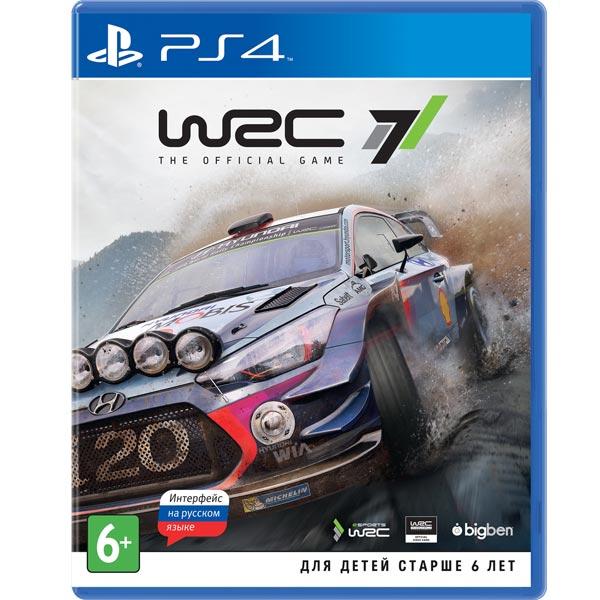 Видеоигра для PS4 . WRC 7 цена 2017