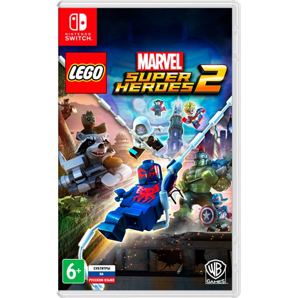 Nintendo Switch игра WB LEGO Marvel Super Heroes 2