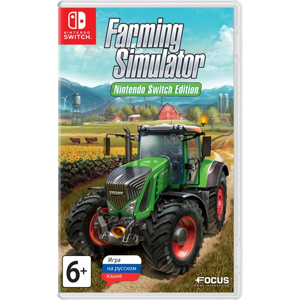 Nintendo, Игра для, Farming Simulator