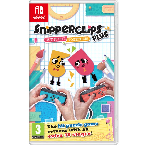 Игра для Nintendo Snipperclips Plus: Cut it out, together!
