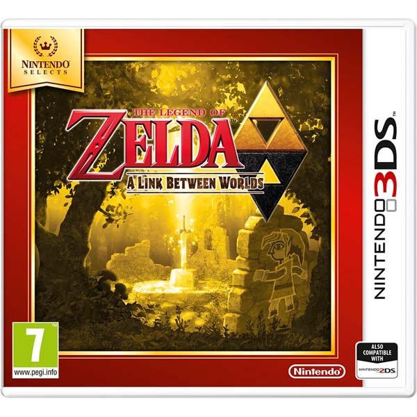 Игра для Nintendo Selects Zelda Link Between World legend of zelda action figure toys 10cm pvc nintendo 3ds zelda manga figma zelda link vinyl doll
