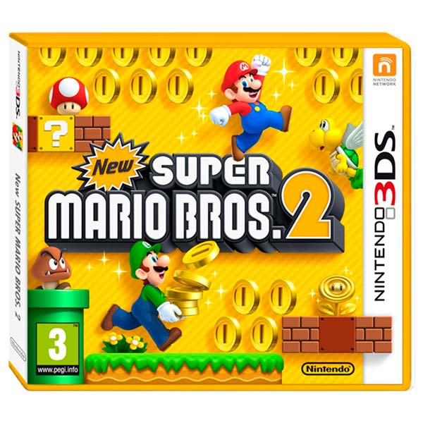Nintendo, Игра для, New Super Mario Bros 2