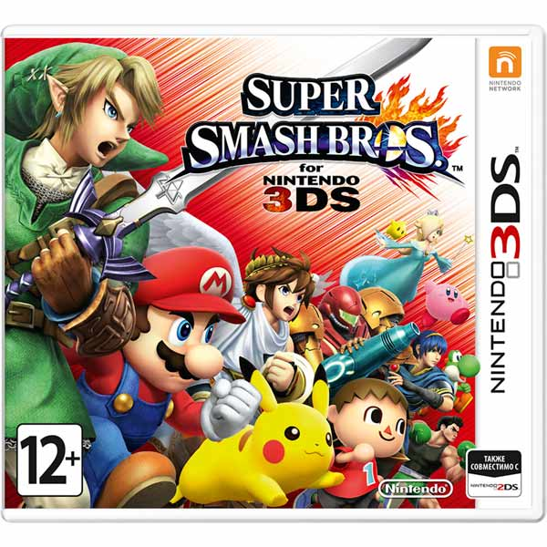 Игра для Nintendo — Super Smash Bros
