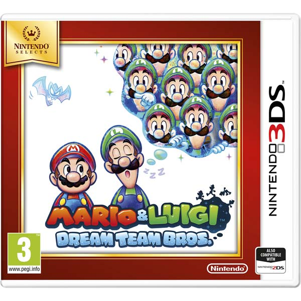 Игра для Nintendo Mario & Luigi Dream team Bros