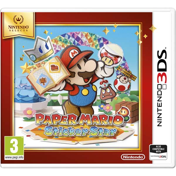 Игра для Nintendo Paper Mario Sticker Star