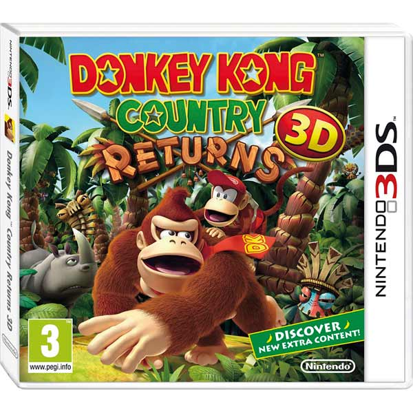 Nintendo, Игра для, Donkey Kong Country Returns 3D