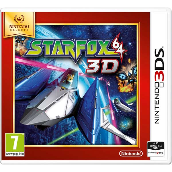 Игра для Nintendo Star Fox 64 3D