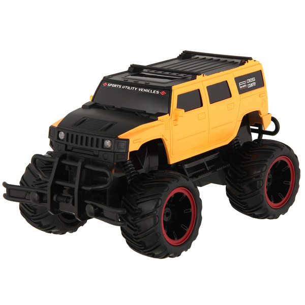 Радиоуправляемая машина Pilotage Off-Road Race Truck 1/16 Yellow (RC47154) rc excavator 15ch 2 4g remote control constructing truck crawler digger model electronic engineering truck toy