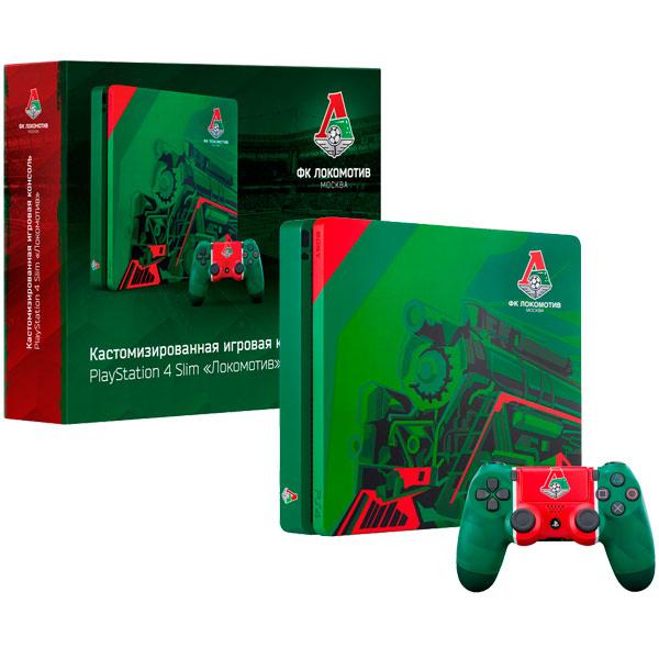 Игровая консоль PlayStation 4 500Gb Локомотив. Чемпионский экспресс playstation