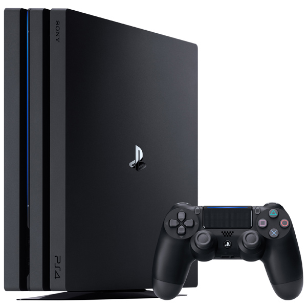Игровая консоль PlayStation 4 Pro 1TB Black (CUH-7108B) игровая приставка sony playstation 4 1tb slim cuh 2108b gow