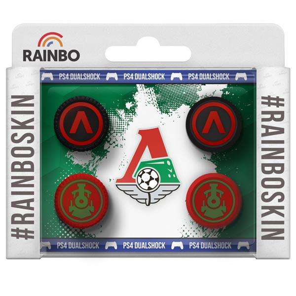 Аксессуар для игровой консоли Rainbo Накладки на стики для геймпада DualShock4 Локомот аксессуар для игровой консоли rainbo накладки на стики для геймпада цска