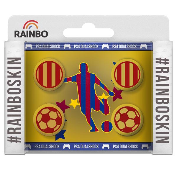 Аксессуар для игровой консоли Rainbo Накладки на стики д/геймпада DualShock4 Барселона аксессуар для игровой консоли rainbo накладки на стики для геймпада dualshock4 динамо