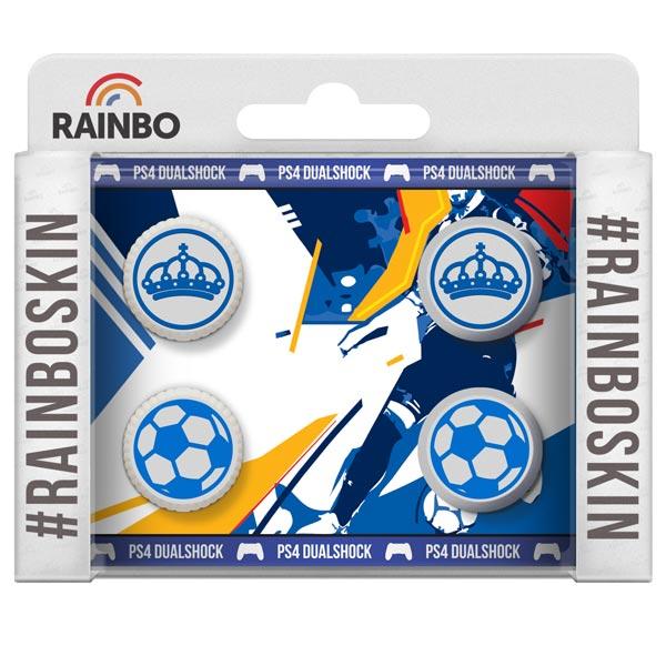 Аксессуар для игровой консоли Rainbo Накладки на стики для геймпада DualShock4 Реал аксессуар для игровой консоли rainbo накладки на стики для геймпада dualshock4 динамо