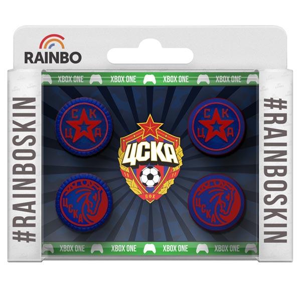 Аксессуар для игровой консоли Rainbo Накладки на стики для геймпада ЦСКА аксессуар для игровой консоли rainbo накладки на стики для геймпада цска