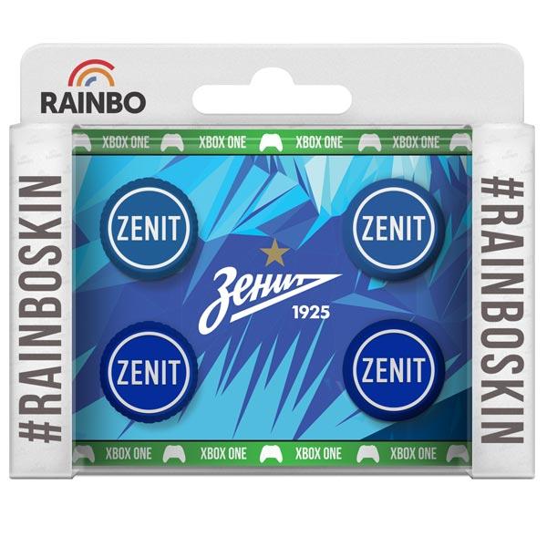 Аксессуар для игровой консоли Rainbo Накладки на стики для геймпада Зенит аксессуар для игровой консоли rainbo накладки на стики для геймпада цска