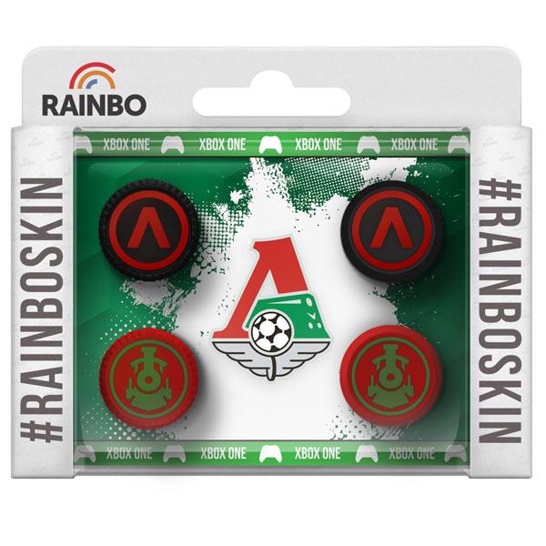 Аксессуар для игровой консоли Rainbo Накладки на стики для геймпада Локомотив аксессуар для игровой консоли rainbo накладки на стики для геймпада барселона