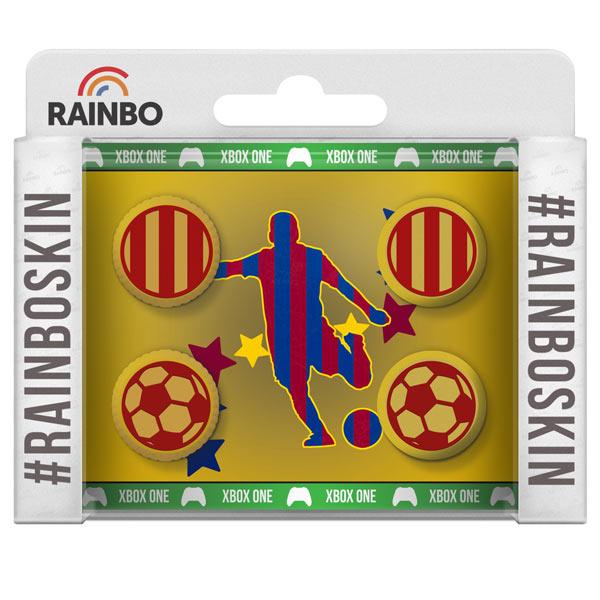 Аксессуар для игровой консоли Rainbo Накладки на стики для геймпада Барселона аксессуар для игровой консоли rainbo накладки на стики для геймпада цска