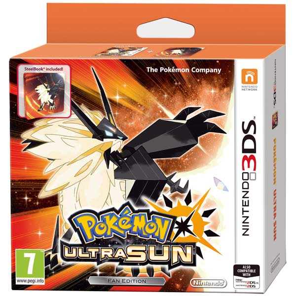 Nintendo, Игра для, Pokemon Ultra Sun Ltd