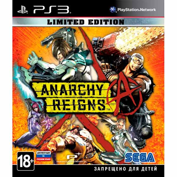 Игра для PS3 . Anarchy Reigns Limited Edition anarchy reigns limited edition игра для ps3