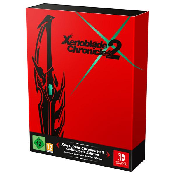 Nintendo, Игра для, Xenoblade Chronicles 2 Ограниченное издание