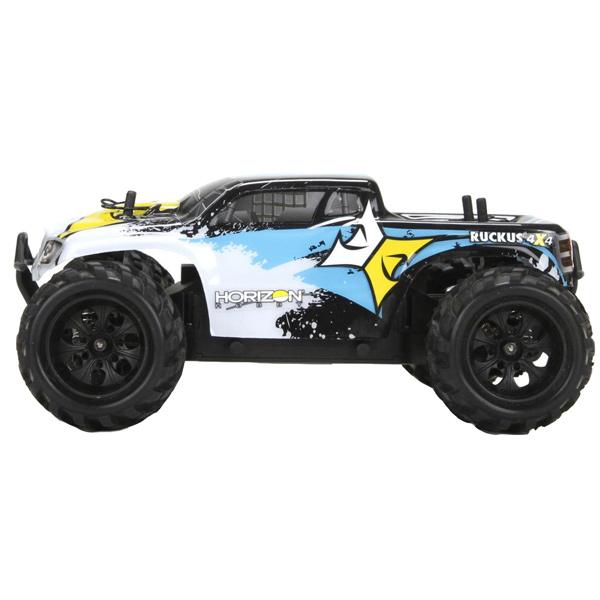 Радиоуправляемая машина Horizon Трак 1/24 - Ruckus 4WD RTR подвеска для скейтборда 1шт ruckus trkrk2026 low silver red 4 75 19 1 см