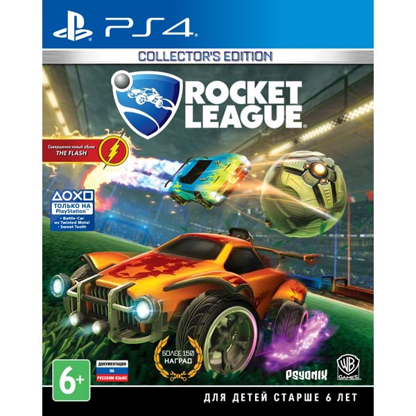 Видеоигра для PS4 . Rocket League Collector's Edition