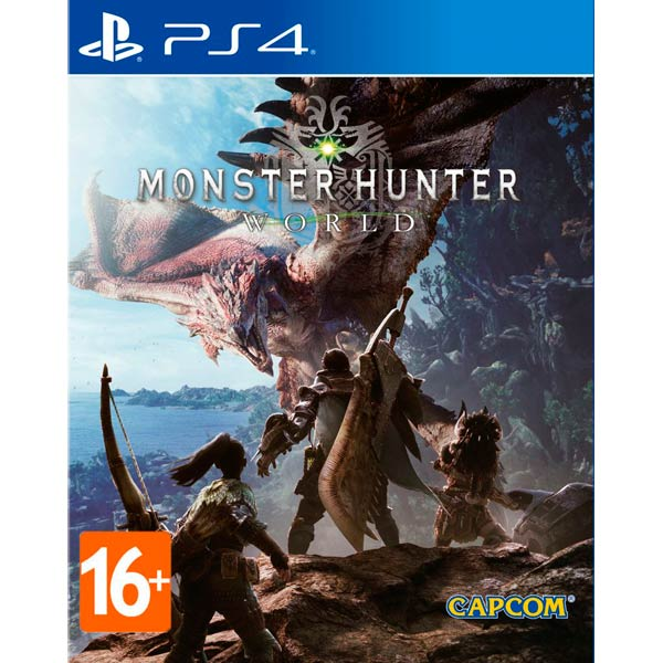 Видеоигра для PS4 . Monster Hunter: World видеоигра для ps4 just dance 2018
