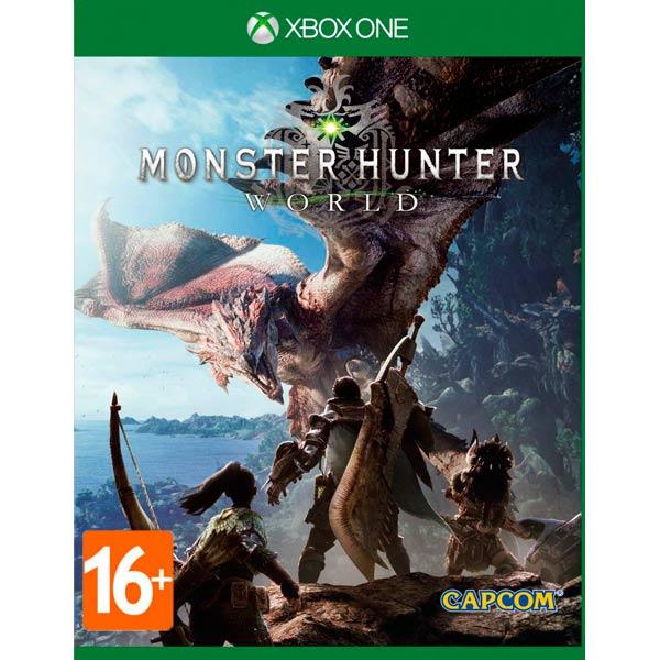 Видеоигра для Xbox One . Monster Hunter: World видеоигра для xbox one overwatch origins edition