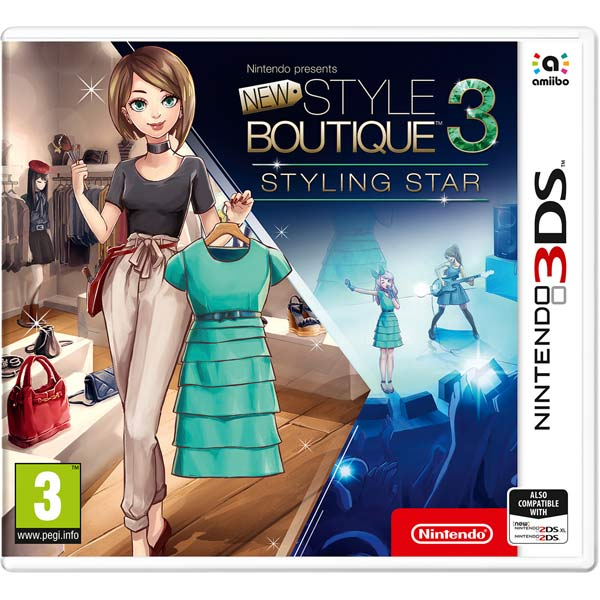 Игра для Nintendo New Style Boutique 3 - Styling Star new car styling 100
