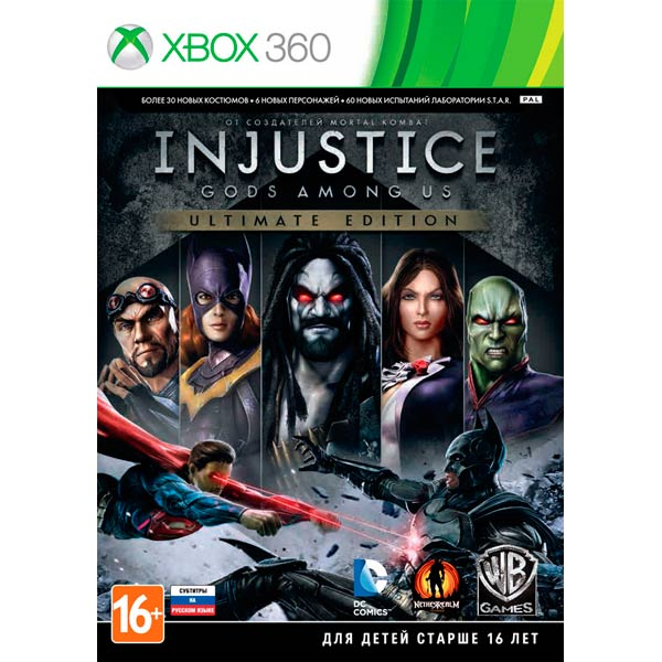 Игра для Xbox . Injustice: Gods Among Us Ultimate Edition спортинвентарь nike чехол для iphone 6 на руку nike vapor flash arm band 2 0 n rn 50 078 os
