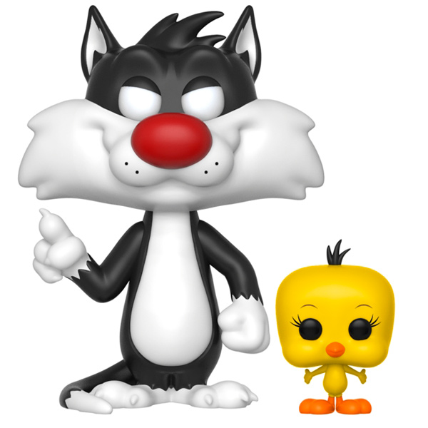 Фигурка Funko Animation:Looney Tunes Sylvester & Tweety модель дома looney tunes b21103