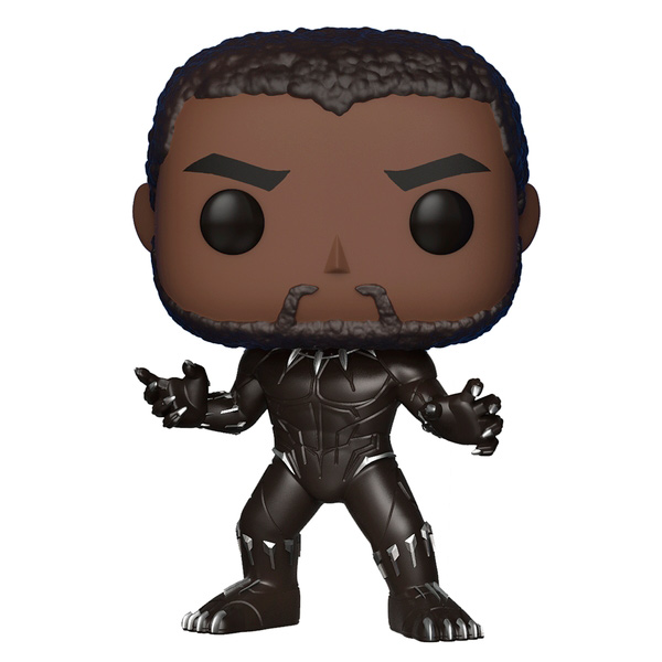 Фигурка Funko POP! Bobble:Marvel:Black Panther фигурка marvel black panther funko pop black panther bobble head 9 5 см