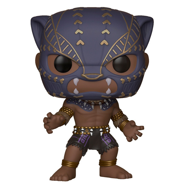 Фигурка Funko POP! Bobble:Marvel:Black Panther Warrior Falls funko pop marvel loki 36 bobble head wacky wobbler pvc action figure collection toy doll 12cm fkg120