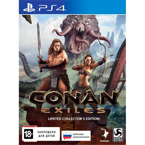 Видеоигра для PS4 . Conan Exiles Коллекционное издание exiles