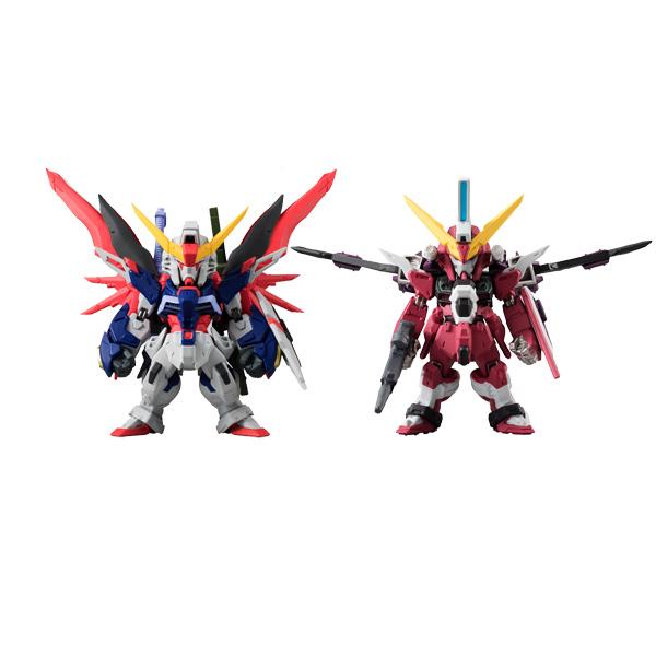 Фигурка Bandai Fw Gundam Conv Sp08 Destiny & Infinite 6 см комплект galtex медвежата 147x112 150x100 40x60 бязь mix 1477446
