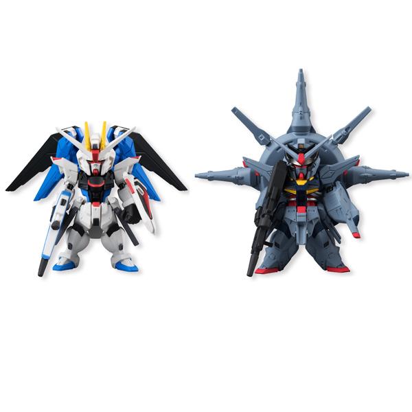 Фигурка Bandai Fw Gundam Conv Sp07 Freed & Prov 6 см bandai bandai gundam model sd q version bb 309 sangokuden wu yong bian xiahou yuan battle