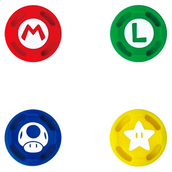 Аксессуар для геймпада Hori Сменные накладки Super Mario для Nintendo Switch