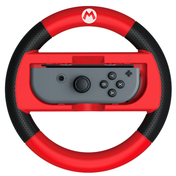 Аксессуар для игровой приставки Hori Руль Deluxe Mario для Nintendo Switch (NSW-054U)