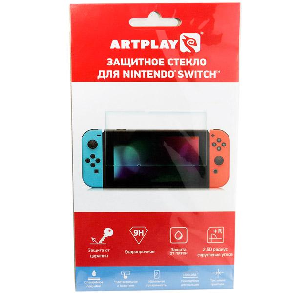 Аксессуар для игровой приставки Artplays Защитное стекло для Nintendo Switch (NS-1003)