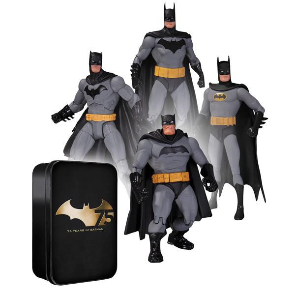Фигурка DCD Batman 75th Anniversary 2 (4 шт) 17см archie giant comics 75th anniversary book