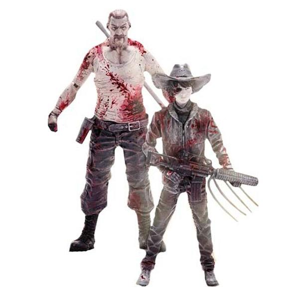 Фигурка DCD Walking Dead Carl/Abraham (2 шт) 17 см