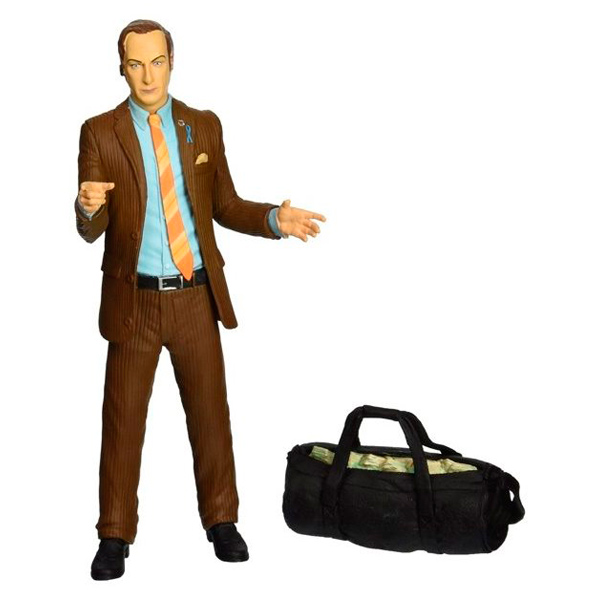 Фигурка DCD Breaking Bad Saul Goodman Brown Suit 16 см блокнот breaking bad во все тяжкие