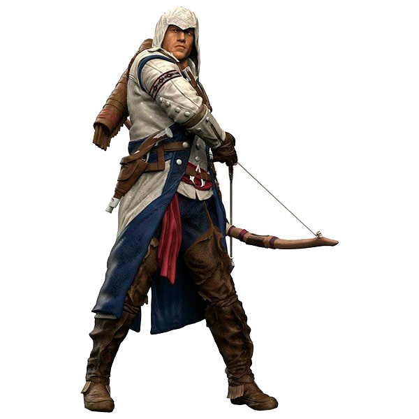 Фигурка McFarlane Toys Assassin's Creed Connor 17 см assassin creed altair player 7 pvc action figures low price toys for boys birthday gift with box ck0003