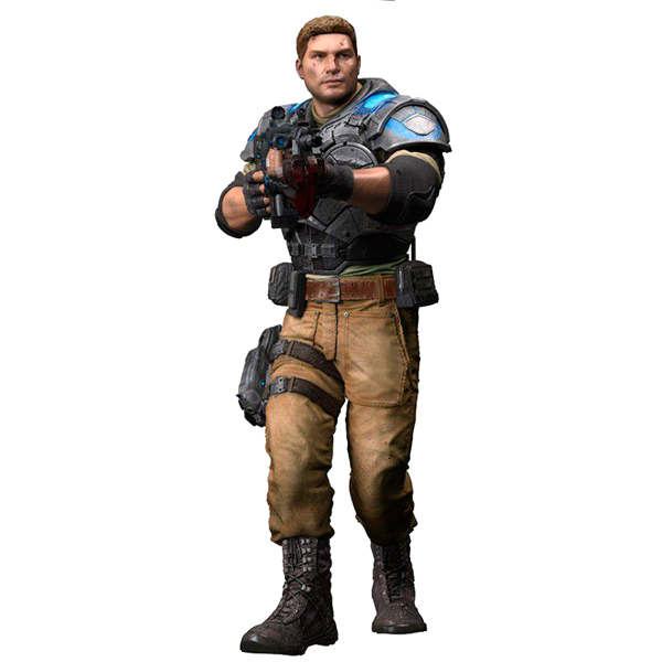 Фигурка McFarlane Toys Gears Of War 4 JD Fenix 17 см майка классическая printio gears of war 2